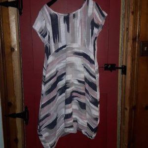 Itallian handmade linen beach dress